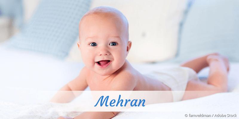 Name Mehran als Bild