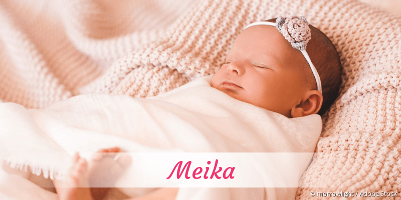 Name Meika als Bild
