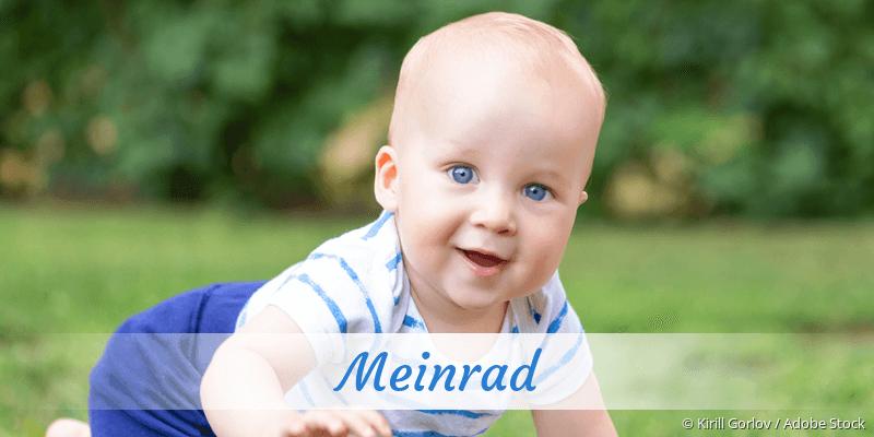 Name Meinrad als Bild