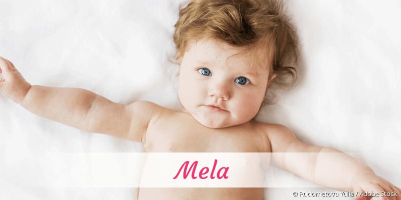 Name Mela als Bild