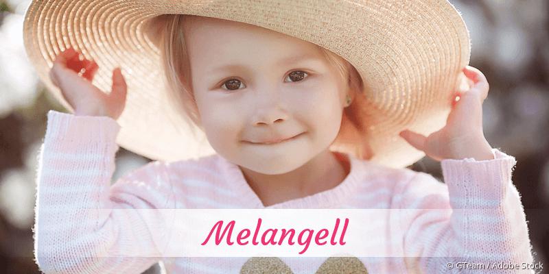 Name Melangell als Bild