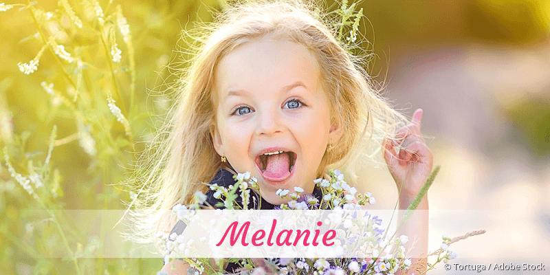 Name Melanie als Bild