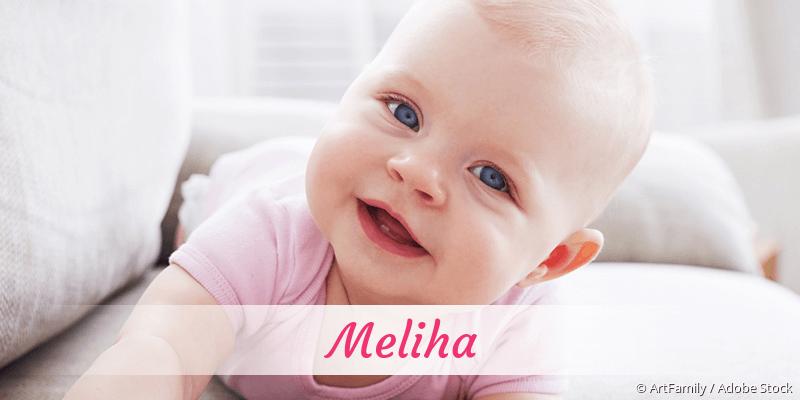 Name Meliha als Bild