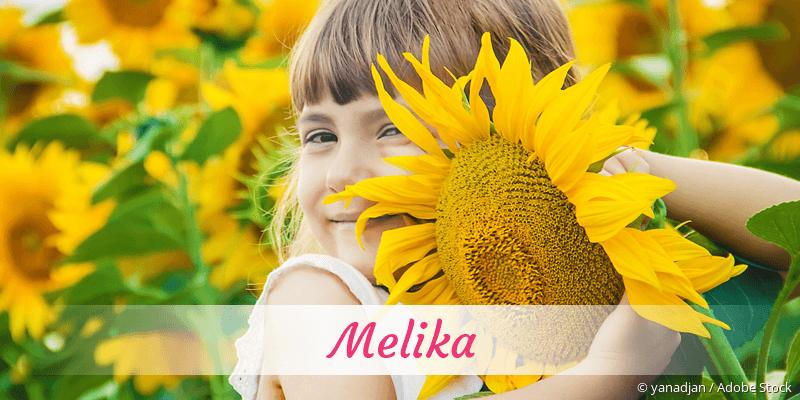 Name Melika als Bild