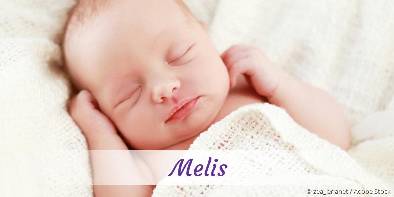 Name Melis als Bild