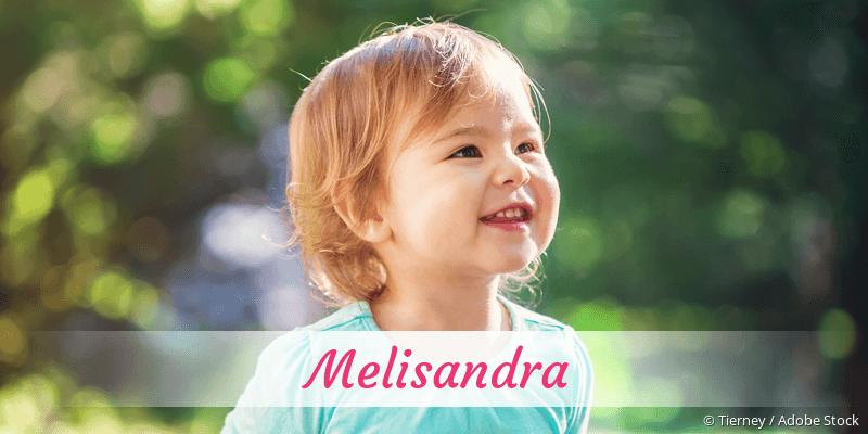 Name Melisandra als Bild