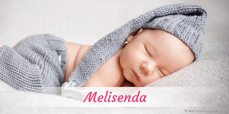 Name Melisenda als Bild