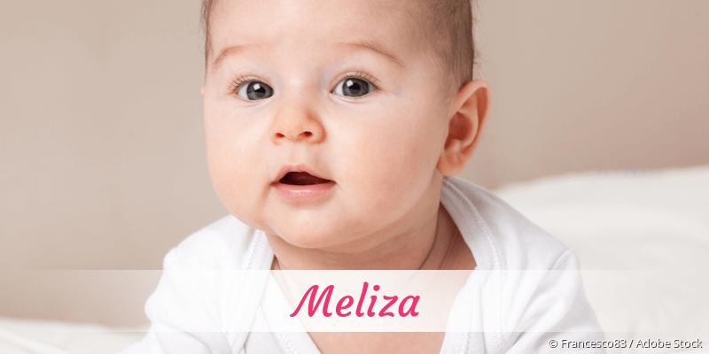 Name Meliza als Bild