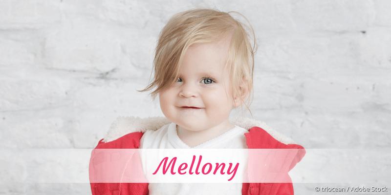 Name Mellony als Bild