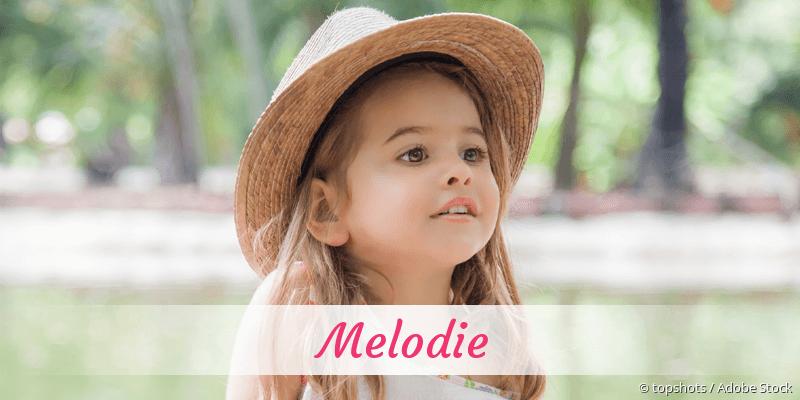 Name Melodie als Bild