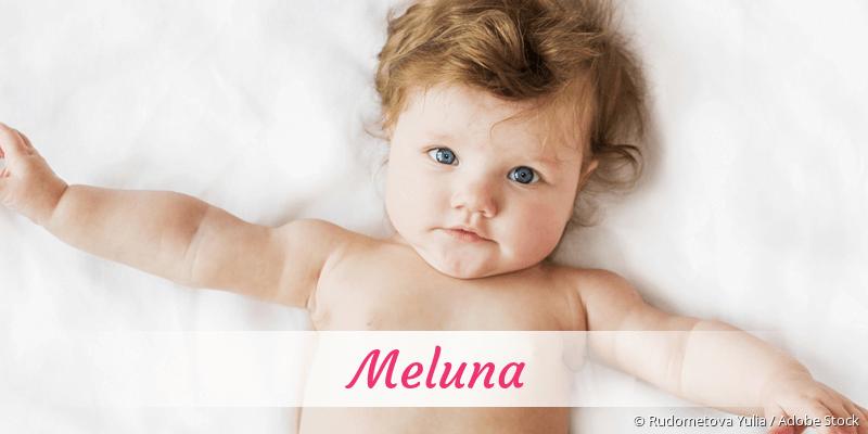 Name Meluna als Bild