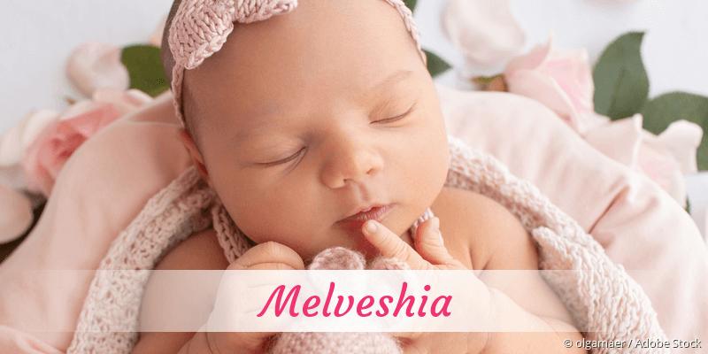 Name Melveshia als Bild