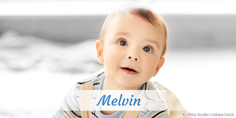 Name Melvin als Bild