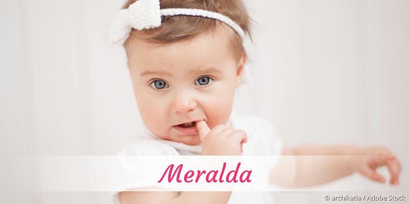 Name Meralda als Bild