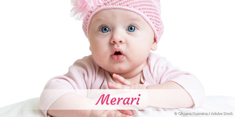 Name Merari als Bild