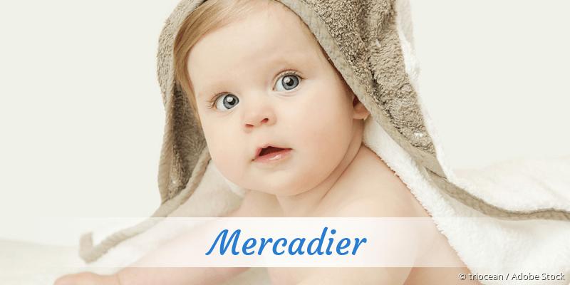 Name Mercadier als Bild