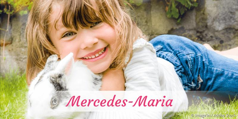 Name Mercedes-Maria als Bild
