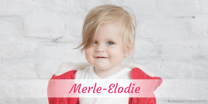 Name Merle-Elodie als Bild