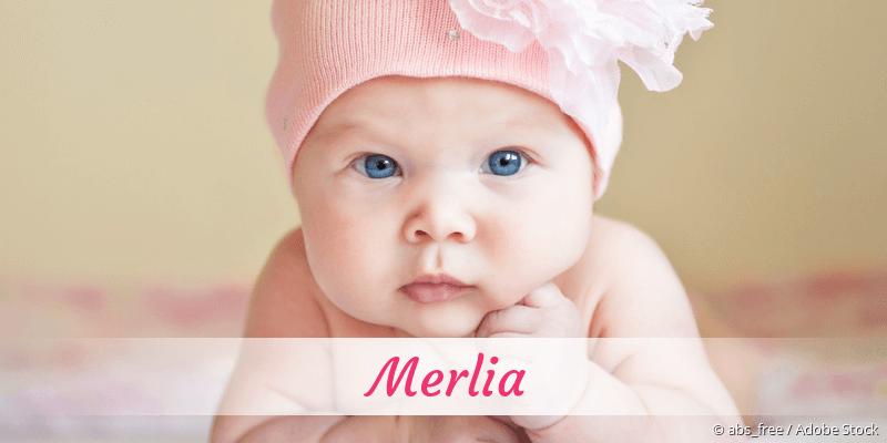 Name Merlia als Bild