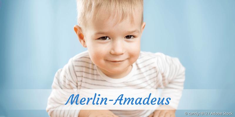 Name Merlin-Amadeus als Bild