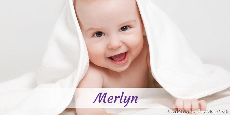 Name Merlyn als Bild