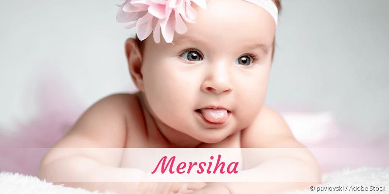 Name Mersiha als Bild