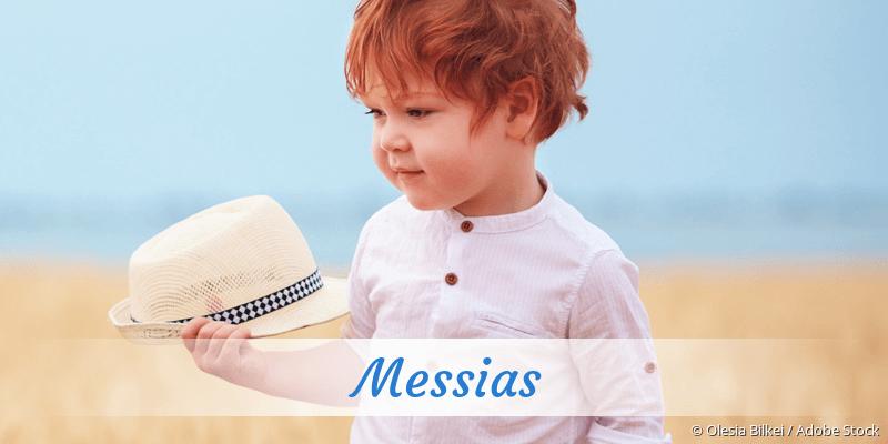 Name Messias als Bild