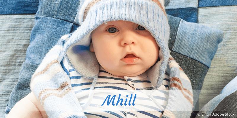 Name Mhill als Bild