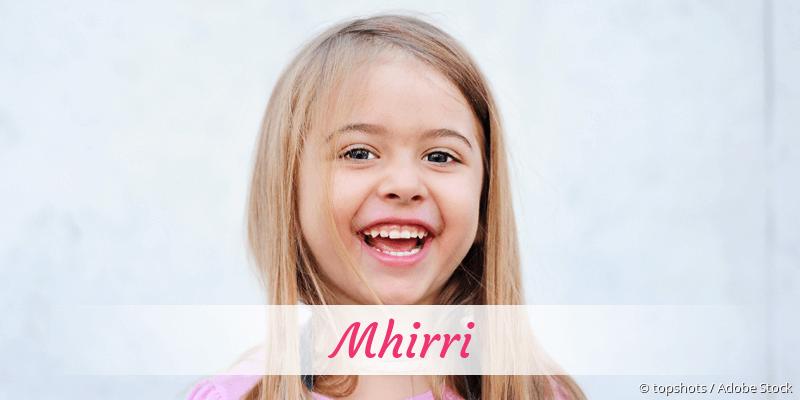Name Mhirri als Bild