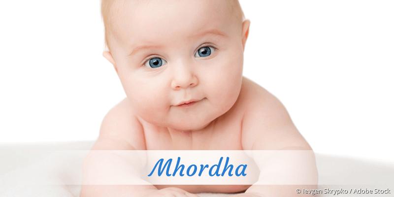 Name Mhordha als Bild