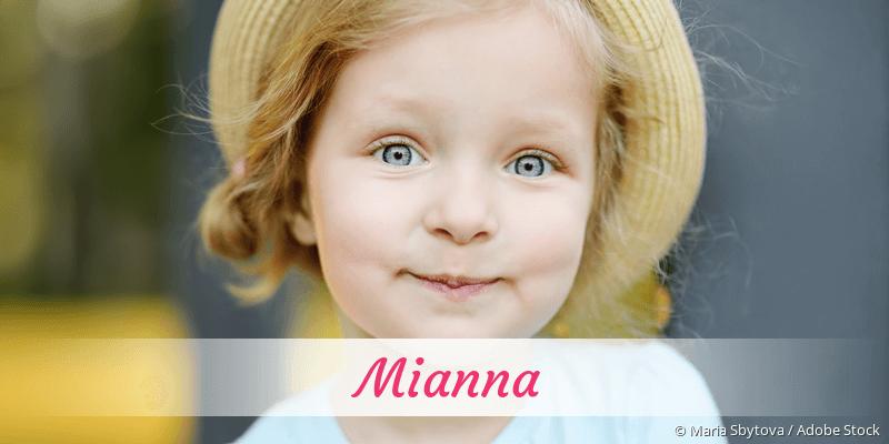 Name Mianna als Bild