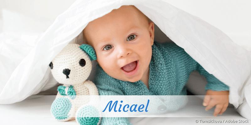 Name Micael als Bild