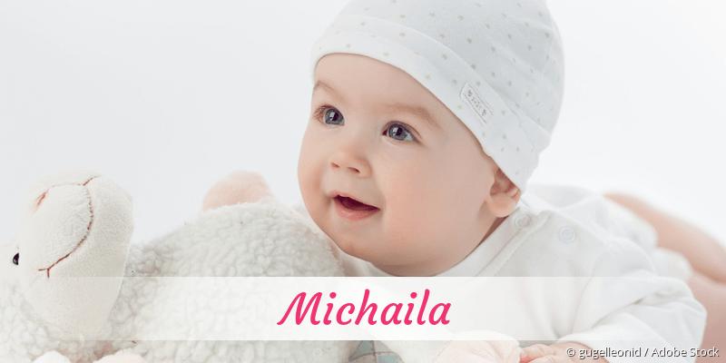 Name Michaila als Bild