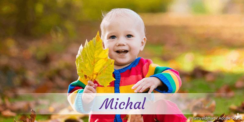 Name Michal als Bild