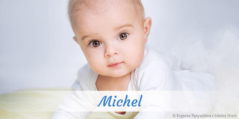 Name Michel als Bild