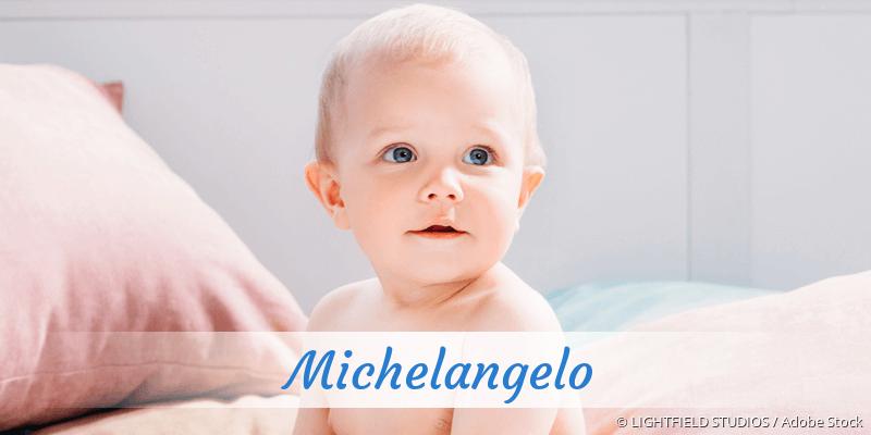 Name Michelangelo als Bild