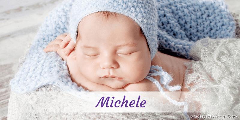 Name Michele als Bild