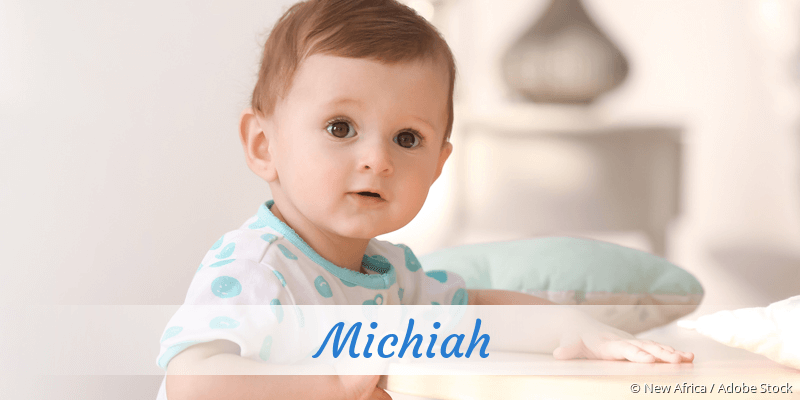 Name Michiah als Bild