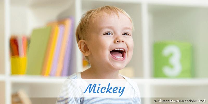 Name Mickey als Bild