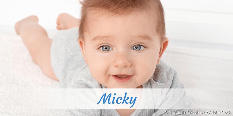 Name Micky als Bild