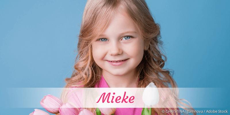 Name Mieke als Bild
