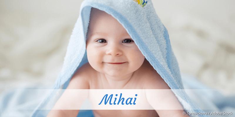 Name Mihai als Bild