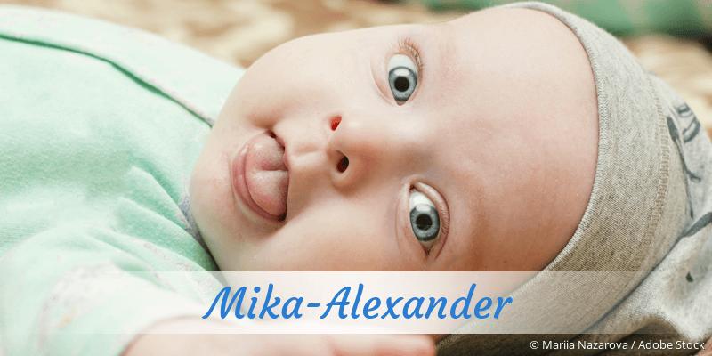 Name Mika-Alexander als Bild