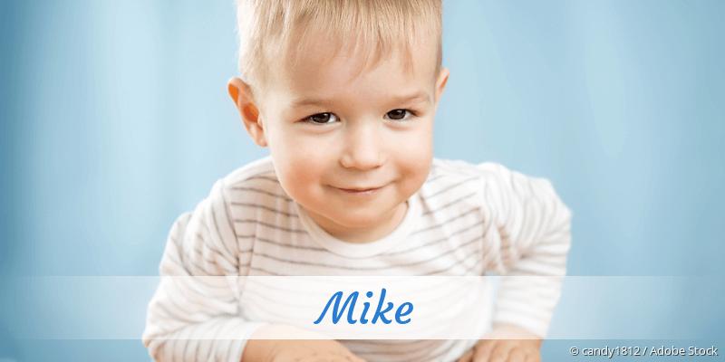 Name Mike als Bild
