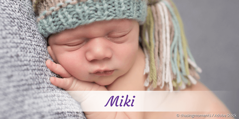 Name Miki als Bild