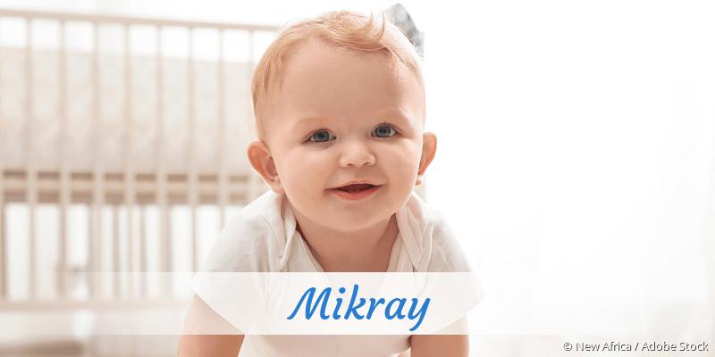 Name Mikray als Bild