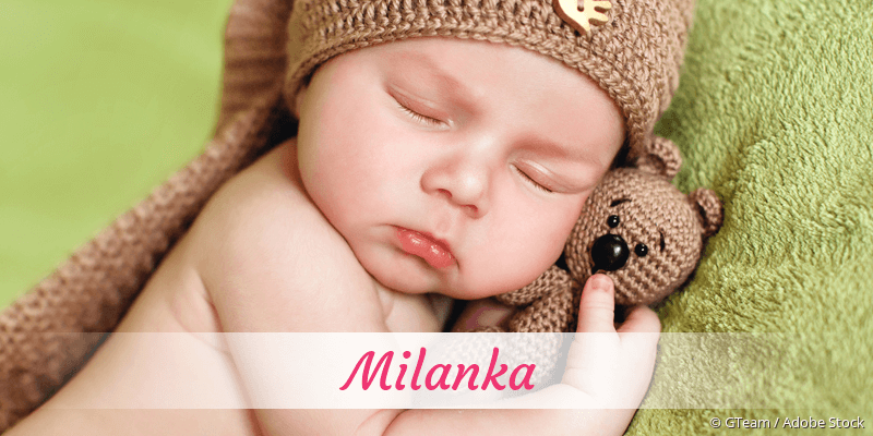 Name Milanka als Bild