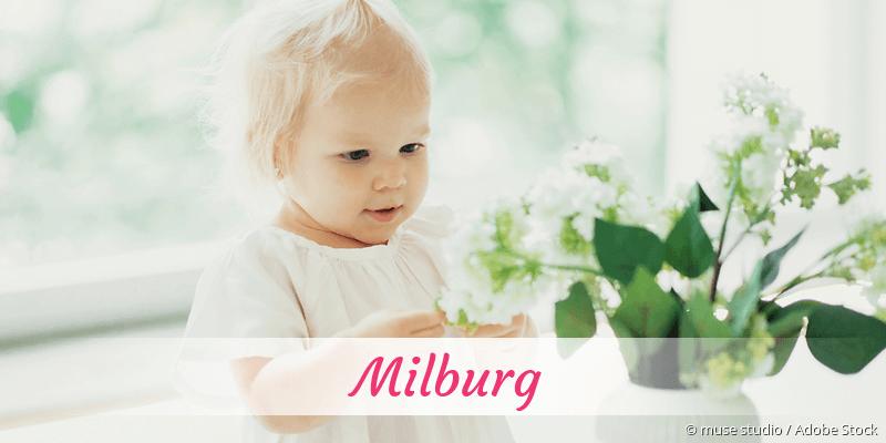 Name Milburg als Bild