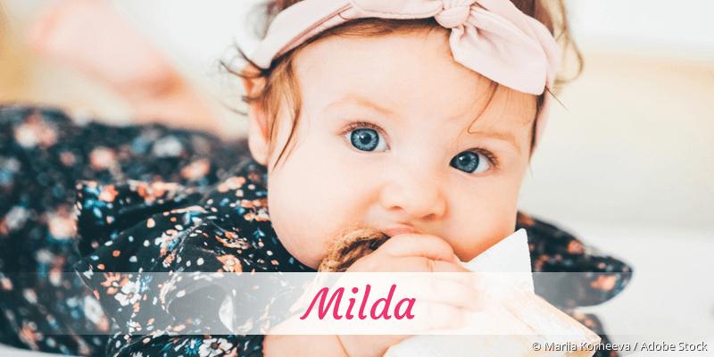 Name Milda als Bild