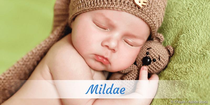 Name Mildae als Bild